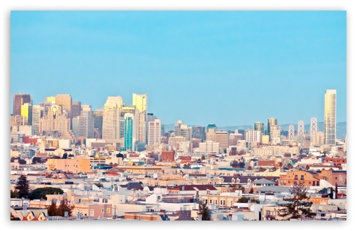 Download Candy Coated San Francisco UltraHD Wallpaper