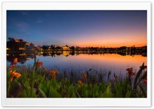 Good Sunset Reflection