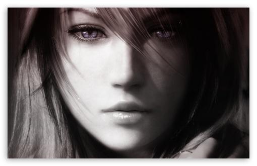 Download Final Fantasy XIII, Lightning Face UltraHD Wallpaper