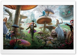 Alice In Wonderland Movie 2010