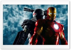 War Machine and Iron Man,...