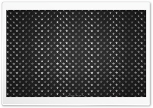 Stars Pattern Black And White