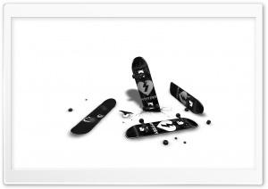 Black And White Skateboards
