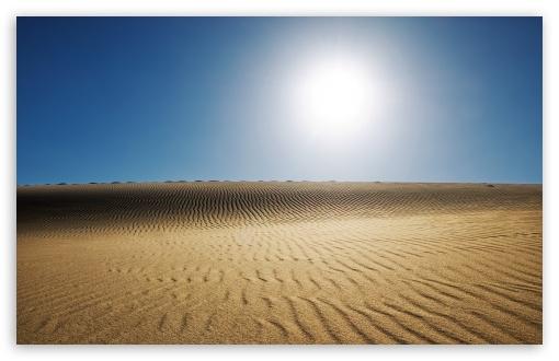 Download Desert Sun UltraHD Wallpaper