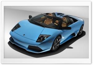 Blue Lamborghini Reventon