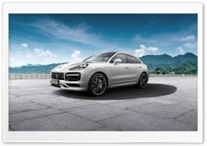 White Porsche Cayenne