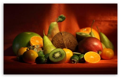 Download Delicious Fruits Display UltraHD Wallpaper