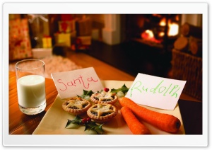 Cookies For Santa And Carrots...