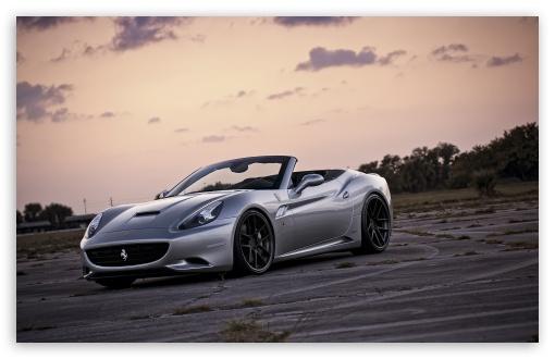 Download Ferrari California Front UltraHD Wallpaper