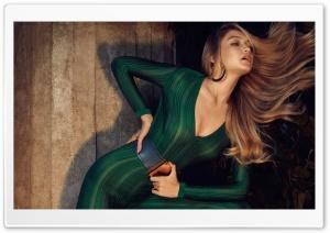 Gigi Hadid Green Jumpsuit