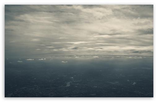 Download Aerial View Of London UltraHD Wallpaper