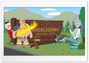 Welcome to Brickleberry and Rick