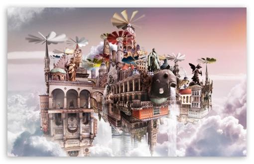 Download Cloudscape UltraHD Wallpaper