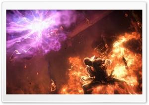 Heihachi Mishima vs Akuma