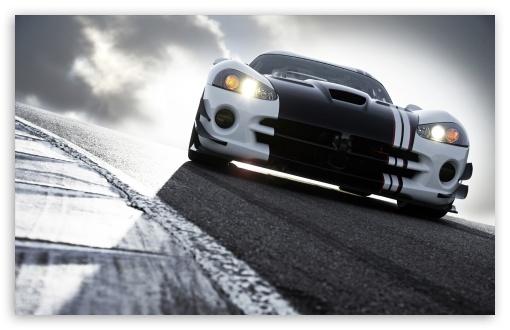 Download Dodge Viper Race Track UltraHD Wallpaper