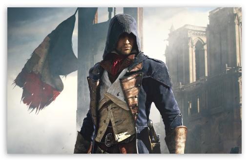Download Assassins Creed Unity French Revolution UltraHD Wallpaper