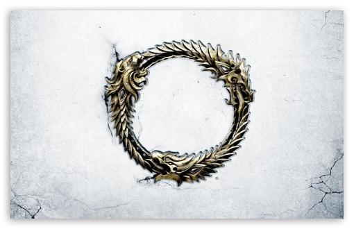 Download The Elder Scrolls Online Ouroboros Medallion UltraHD Wallpaper