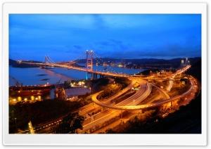 Hong Kong Highways Evening