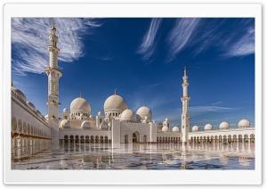 Sheikh Zayed Mosque in Abu...
