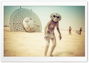 Burning Man USA Nevada Black...