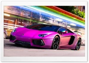 Pink Aventador