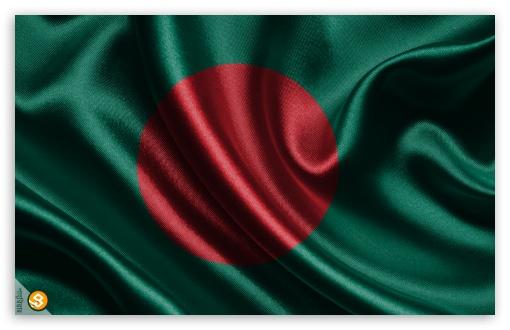 Download Bangladesh National Flag UltraHD Wallpaper