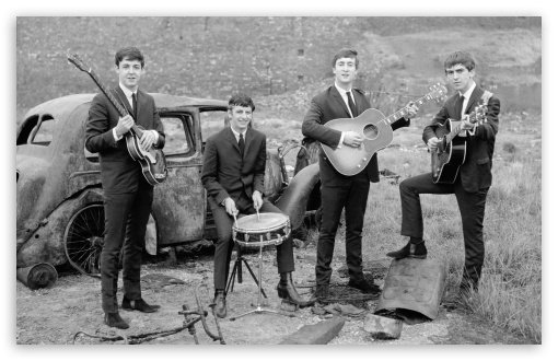 Download Beatles Band UltraHD Wallpaper