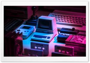 Retro Computer Aesthetic