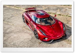 Koenigsegg Regera 2016 red
