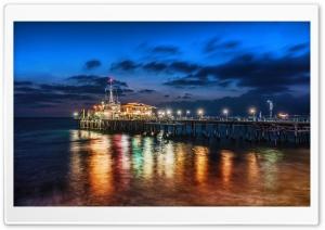The Pier In Santa Monica