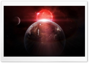 Planets Glow Sunrise