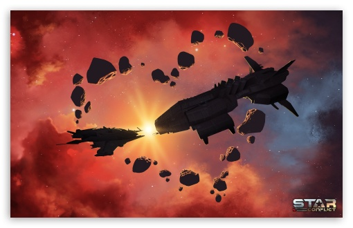 Download Star Conflict UltraHD Wallpaper