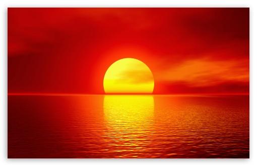 Download Sunset Skyline UltraHD Wallpaper