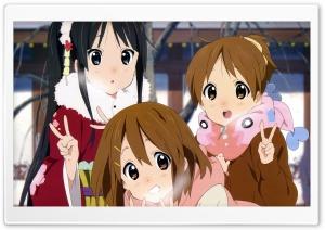 Mio Akiyama, Yui Hirasawa and...