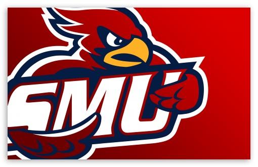 Download SMU Cardinal Logo UltraHD Wallpaper