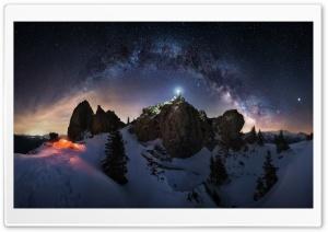 Milky Way Night Sky...