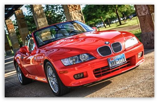 Download Red BMW UltraHD Wallpaper