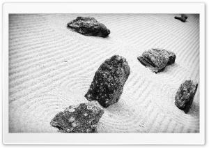 Rocks -  White Sand