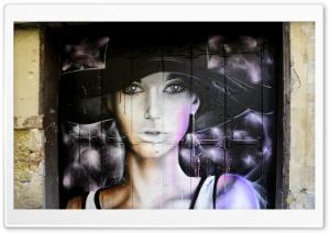 Beautiful Graffiti Portrait