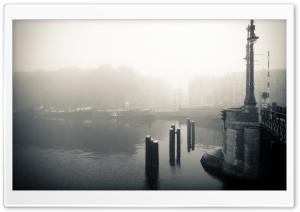 Foggy Morning In Amsterdam