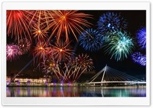 Happy New Year, Fireworks Show