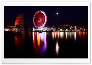 Yokohama, Japan At Night