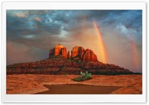 Rainbow In Arizona