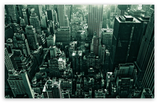 Download City From Above UltraHD Wallpaper