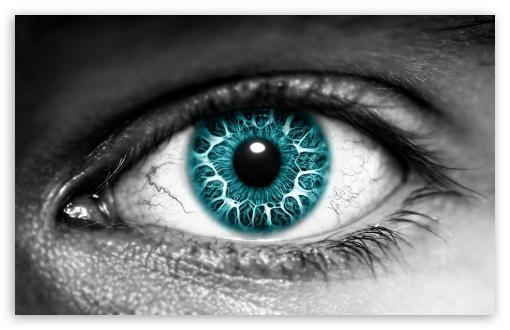 Download Azure Eye UltraHD Wallpaper