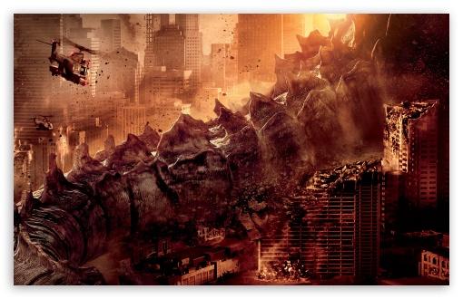 Download Godzilla 2014 Tail UltraHD Wallpaper