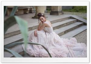 Bride in a Beautiful Dress,...