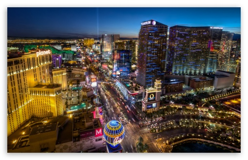 Download Las Vegas BLVD South UltraHD Wallpaper