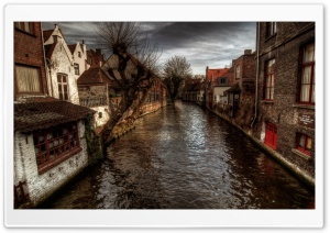 A Canal In Bruges