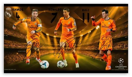 Download Real Madrid Champions League UltraHD Wallpaper